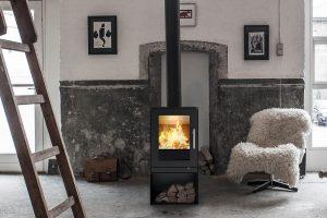 Rais Q-Tee 5kw Wood Burning Stove