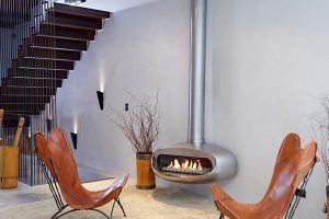 Ortal 120 Oval Hanging Fire