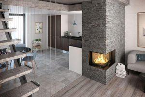 Rais Visio 2 Corner Inset Fireplace 7kw